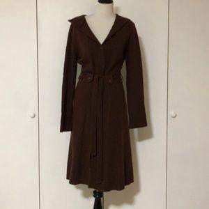 BCBGMAXAZRIA brown cardigan (long)